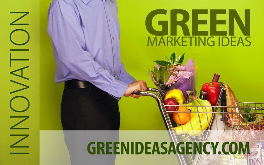 Ad design for greenideasagency.com