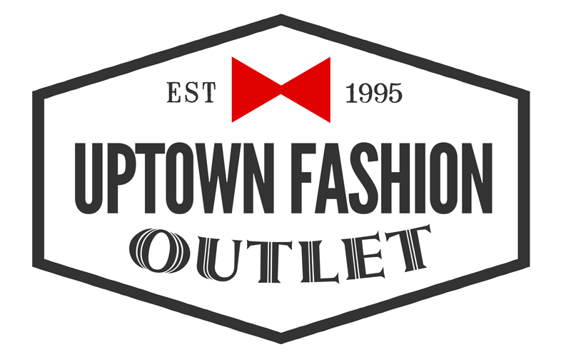 Uptown Fashion Outlet logo designed by David Trotter @bluedotagency